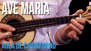 Ave Maria - Charles Gounod | Versão Jorge Aragão (aula de cavaquinho)