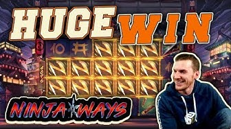 HUGE WIN on Ninja Ways Slot - £4 Bet