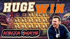 HUGE WIN on Ninja Ways Slot - £4 Bet