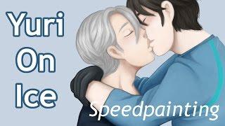 Speedpaint - [Yuri On Ice] Viktor/Yuuri