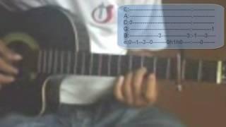 Jesus- Jesus Adrian Romero guitarra (tutorial) mejorado