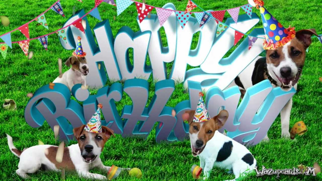 HAPPY BIRTHDAY Jack Russell Dog For Him YouTube