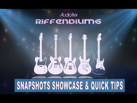Audiofier RIFFENDIUM 6 (Funky/Disco Guitars) Overview, Presets and Quick Tips