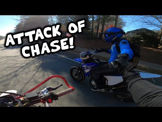 Chase tried to push me OFF MY BIKE! | Chase and Yummi Adventure Series - Comeback Ep 04
