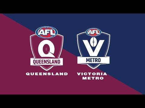 Queensland v Victoria Metro