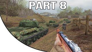 Call of Duty United Offensive Gameplay Walkthrough Part 8 - Soviet Campaign - Ponyri