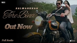 Full Audio version : Tere Bina Out Now | Salman Khan &  Jacqueline Fernandez | By SKF