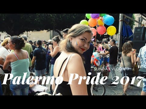PALERMO SUNDAY VLOG #7: Pride 2017   Dragonfly's Heart
