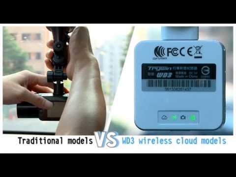 Trywin WD3 Wi-Fi Car DVR видеорегистратор [ Comparison ]