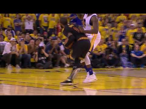 Kyrie Irving SICK Layup over Draymond Green