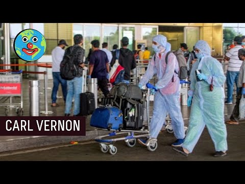 AIRPORT SAFETY MADNESS in India  - Carl Vernon
