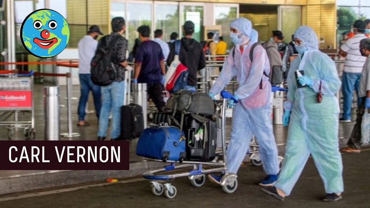 AIRPORT SAFETY MADNESS in India.  Carl Vernon