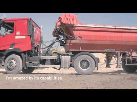 Renault Trucks C Optitrack, a flexible 4X4 drive