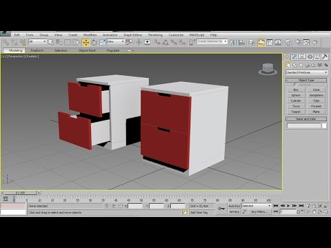3DS Max Chest Of Drawers – Easy Beginner Tutorial