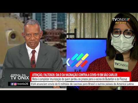 Jornal da TV Onix - Ao Vivo: 04/06/2021 - Ao Vivo
