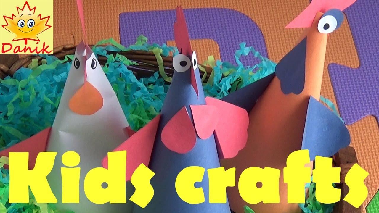 Easter Kid Crafts Easter Craft Ideas Kinder Surprise Youtube