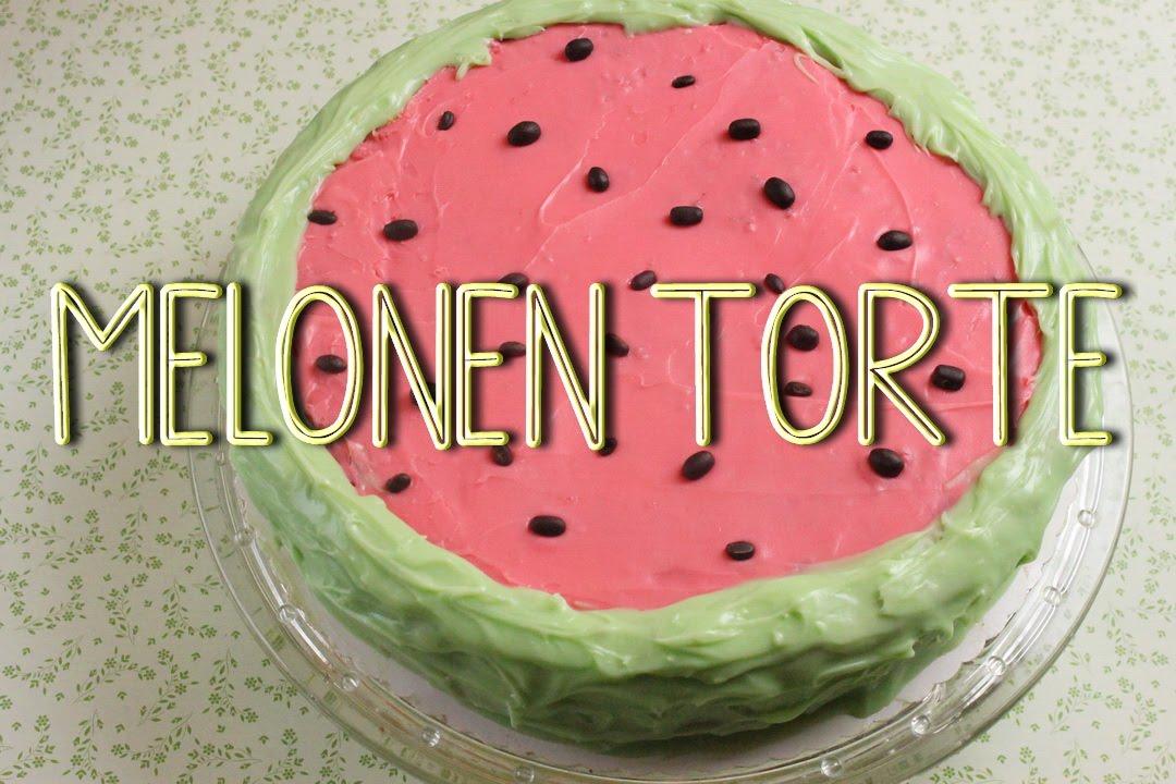 Melonen Torte  Motivtorte ohne Fondant  Torte fr