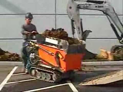 Transporter axo minidumper idraulico con pala for Grillo 507 usato