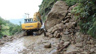 SIDDHABABA ROAD|| MOST DANGERUS ROAD OF NEPAL ||DOVAN TO BUTWAL ROAD || Landslide at siddhababa