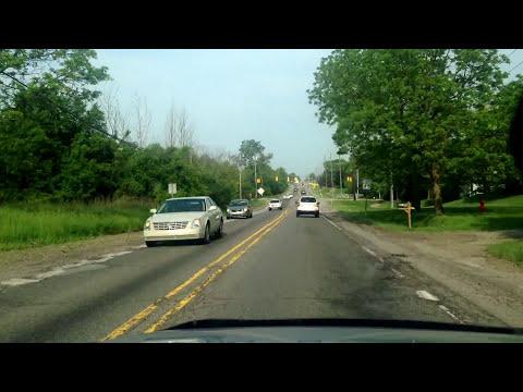 Driving from Bingham Farms, Michigan to White Lake, Michigan