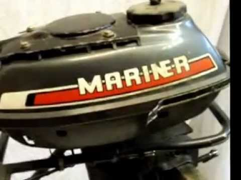 Mariner 3 5 Hp Air Cooled Two Stroke Outboard Boat Engine