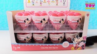 Disney Mickey Mouse Hearts Valentines Figure Blind Box Toy Review Opening | PSToyReviews