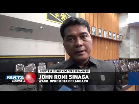 Rapat Paripurna Ke 9 Sidang Ke 2 DPRD Kota Pekanbaru
