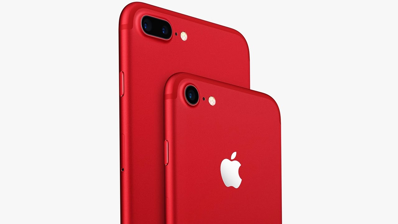 l 39 iphone 7 rouge sp cial edition existe vraiment youtube. Black Bedroom Furniture Sets. Home Design Ideas