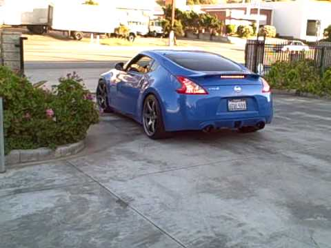 MXP EXHAUST FOR 370Z WITH MXP TEST PIPE by AMPLIFIED MOTORSPORT