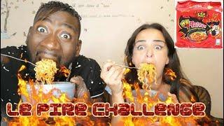ON TESTE LES PATES LES PLUS PIQUANTES DU MONDE - EXTREME Spicy Ramen Challenge