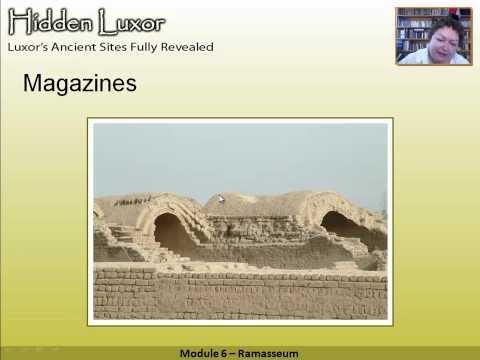 Hidden Luxor - Ramasseum: Module 6 #thisisegypt