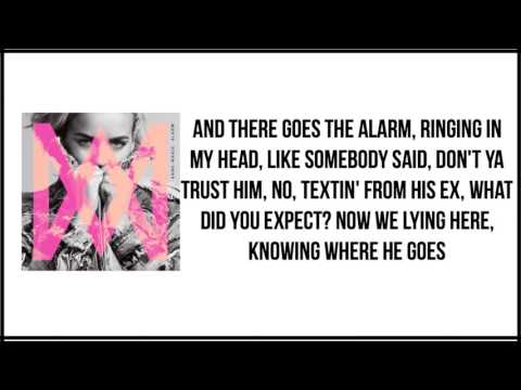 Anne Marie - Alarm (Clean) Lyrics