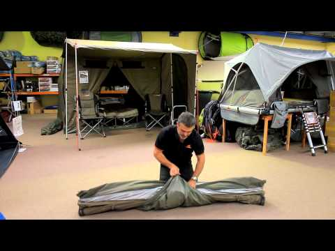 How To Pack Up Your Oztent RV With The Fly Attached