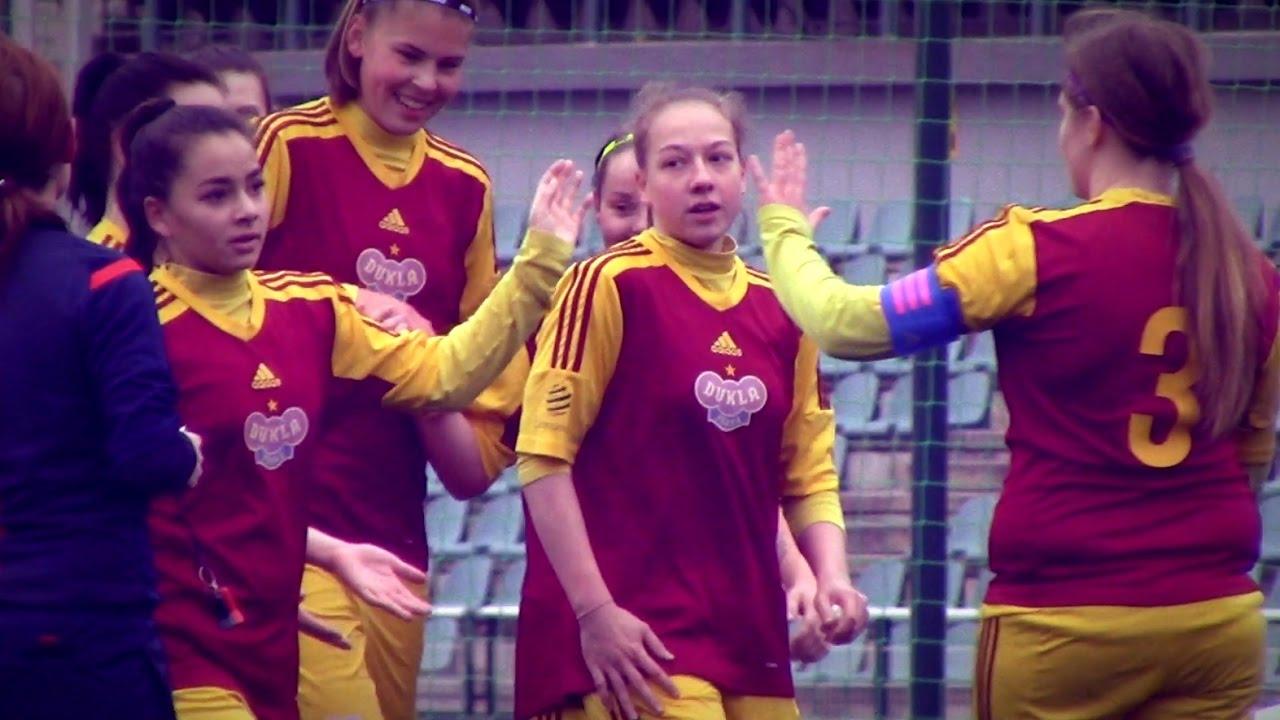 1 Liga Dorostenek Dukla  Zbrojovka 31 (20)  Youtube