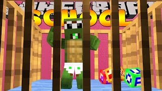 Minecraft School - TINY TURTLE TURNS INTO A BABY!!