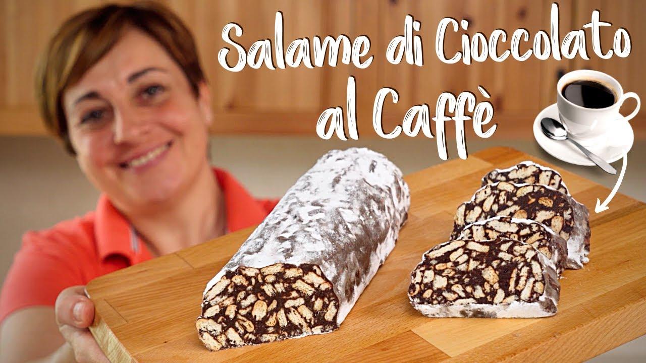 Ricetta Salame Di Cioccolato Senza Uova Fatto In Casa Da Benedetta.Salame Di Cioccolato Al Caffe Fatto In Casa Da Benedetta Ricetta Facile Senza Uova Youtube
