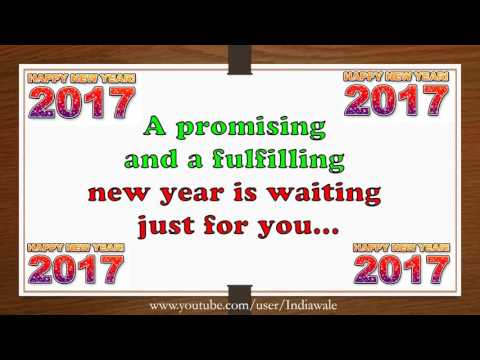 Happy New Year 2017 - Beautiful Wishes/New...