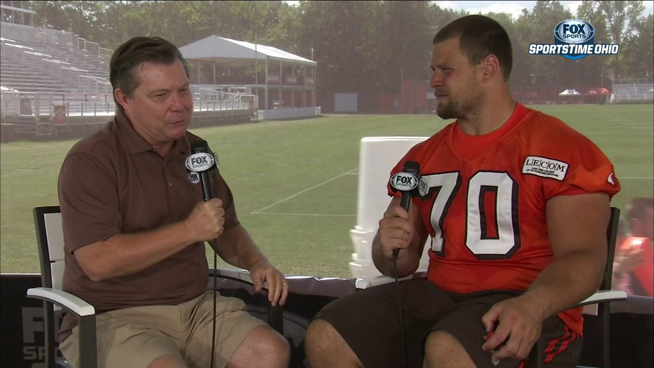 Jim Donovan 1 on 1 interview with Kevin Zeitler