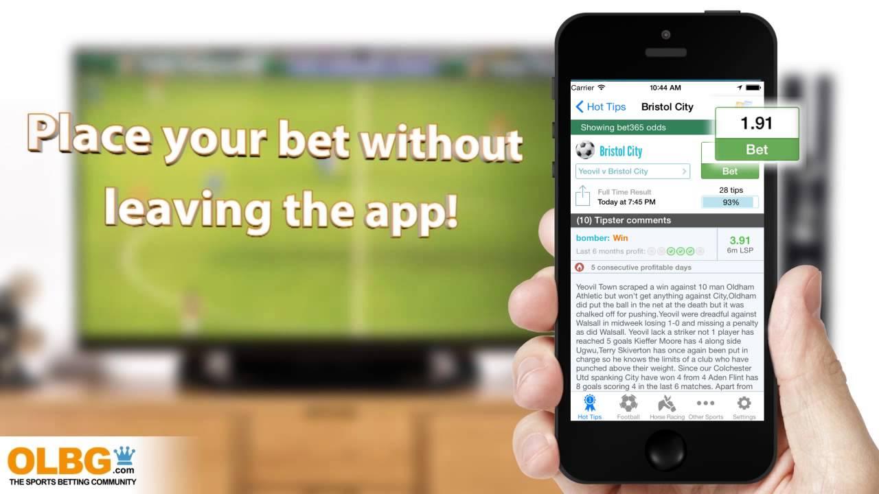OLBG Mobile Sports Betting Tips App