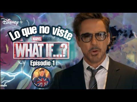 Download WHAT IF  Episodio 1   Lo que no viste Referencias   Easter Eggs por Tony Stark