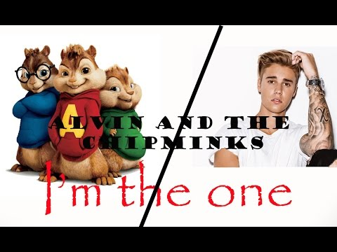 I'm the one by chipmunks