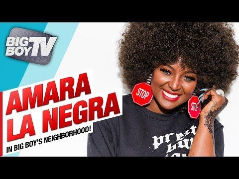 Amara La Negra on New Record Deal, Love & Hip Hop & Dealing w/ Hate