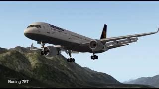 Літак Ікс 10 (зліт, посадка) все вручну