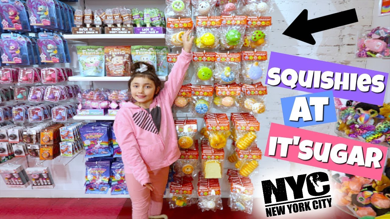 Squishy Hunting : SQUISHIES AT IT SUGAR! SQUISHY HUNTING IN NYC - YouTube