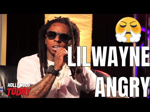 Lil Wayne Gets Frustrated At Question About His Lyrical Substance
