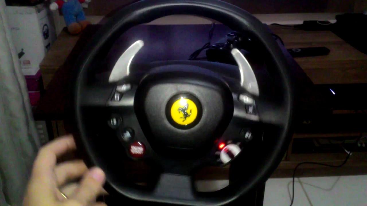 Volante T80 Thrustmaster Ferrari 488 Gtb Edition Playstation 4 Pc Youtube