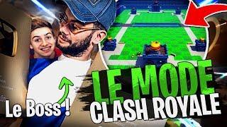 Lebouseuh rejoue à Clash Royale sur Fortnite Créatif avec la Team Croûton !
