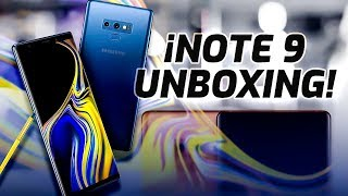 Samsung Galaxy Note 9 unboxing | NOTE LO PIERDAS