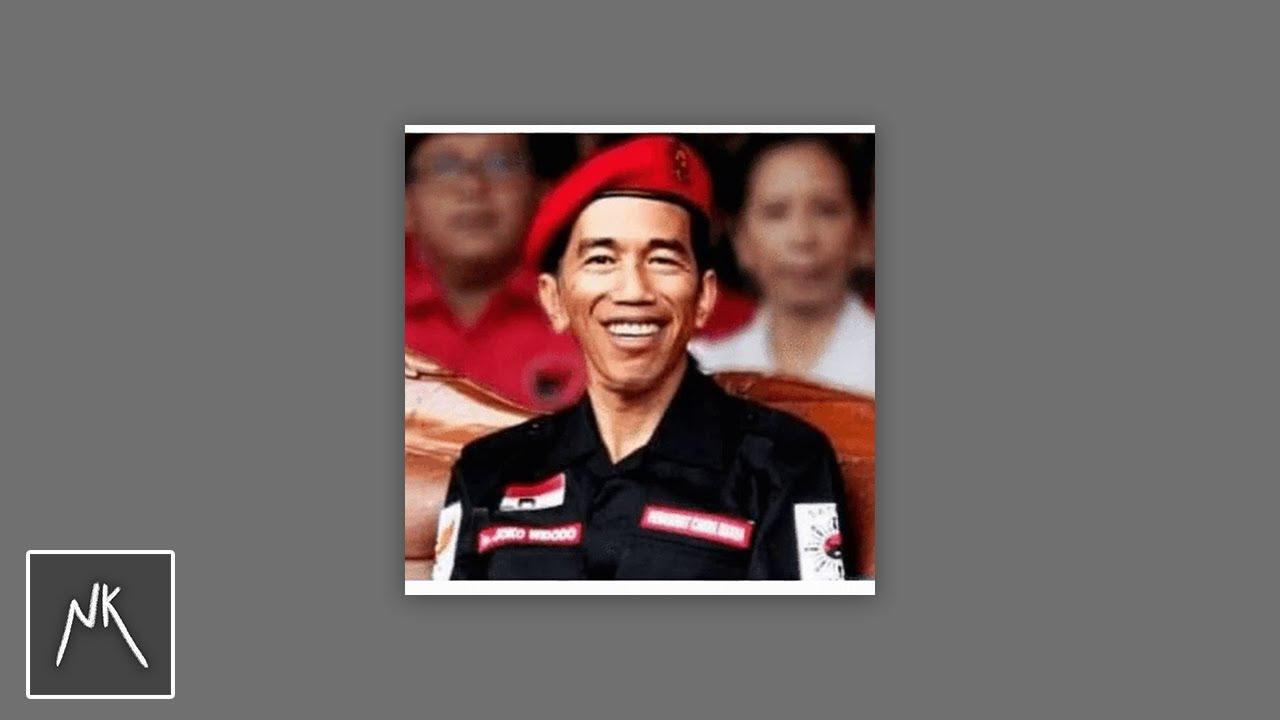 Kalo gw nemu presiden Jokowi, gw beli topi baret merah
