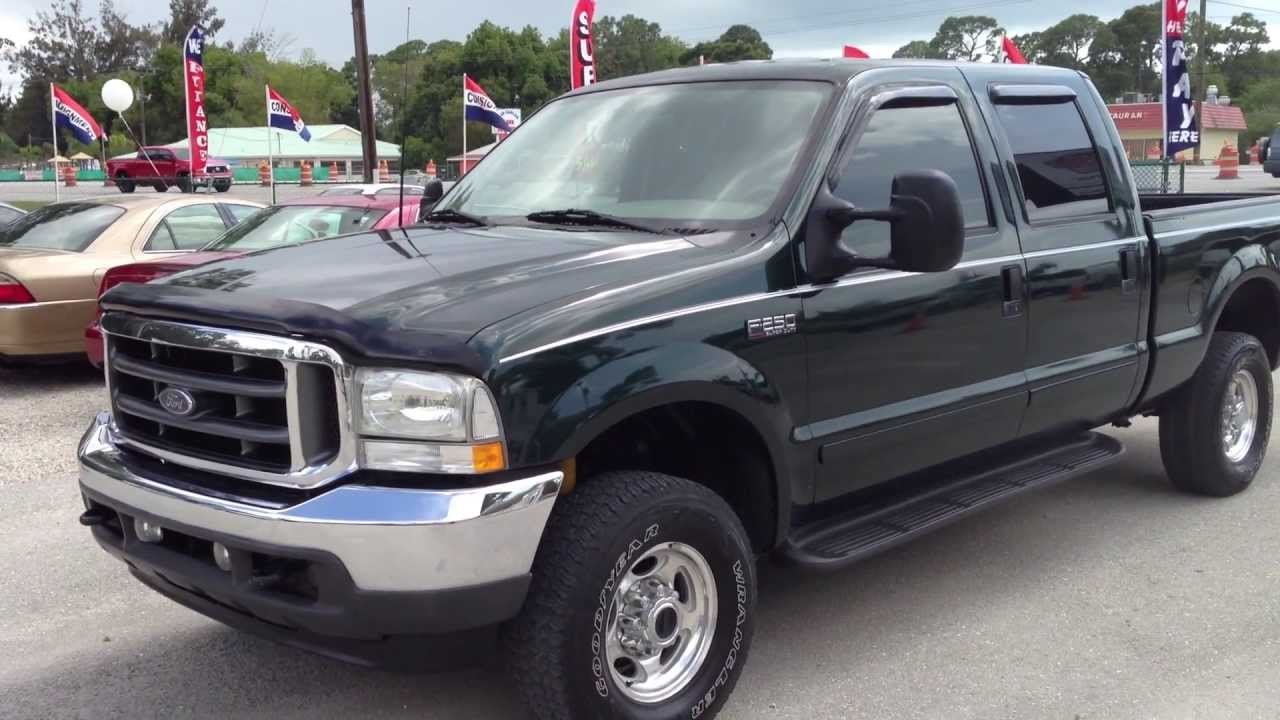 medium resolution of 2003 ford f250 super duty lariat 4x4 view our current inventory at fortmyerswa com youtube